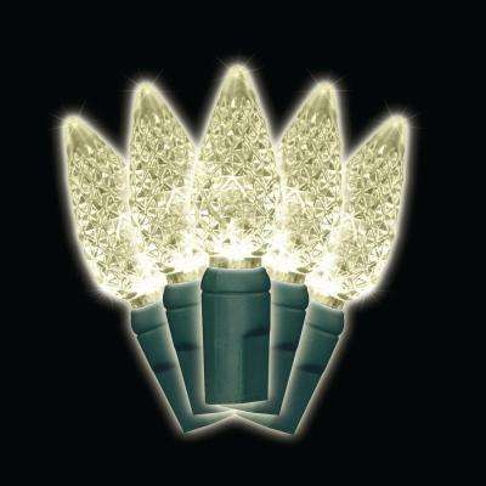C6 35-Light LED Warm White Light Set (Box of 2)
