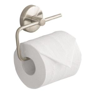 Hansgrohe S E Single Post Toilet Paper Holder In Brushed