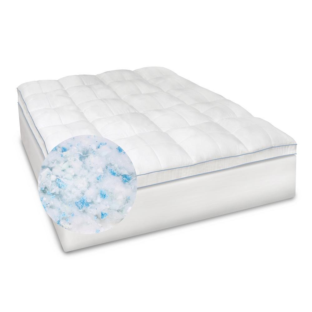 Blended Memory Foam Queen Mattress Topper