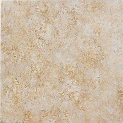 18 in. x 18 in. Caribbean Sand Ceramic Floor and Wall Tile (15.40 sq. ft. / case)