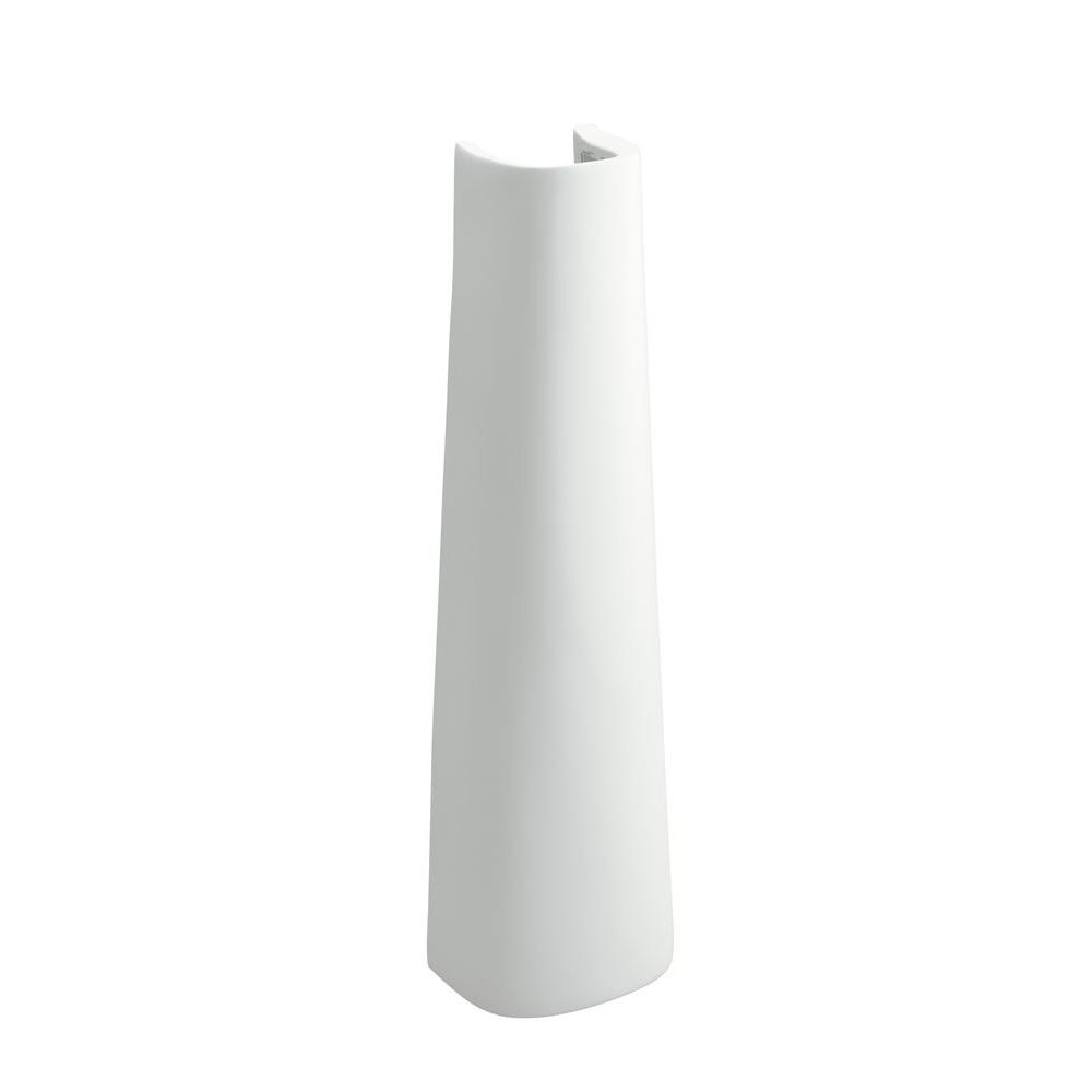 Great Sacramento Vitreous China Pedestal In White
