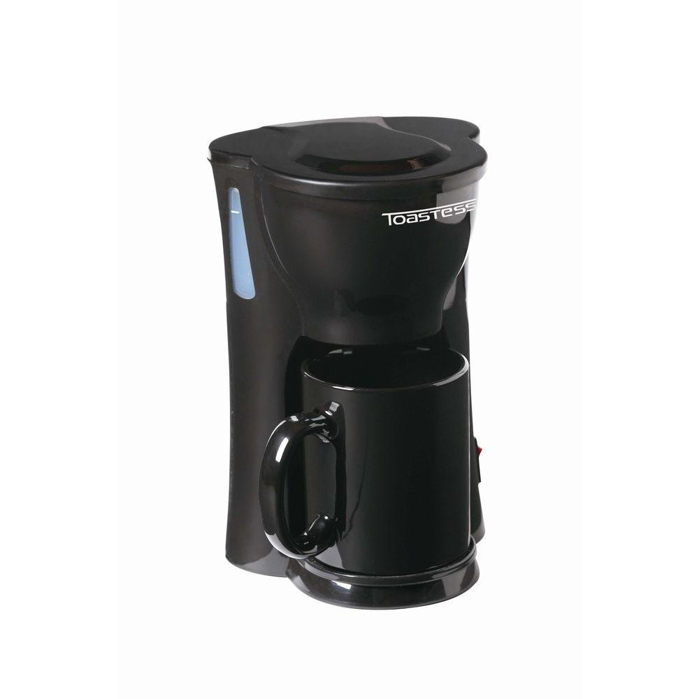 Toastess 1-Cup Coffee Maker With Mug