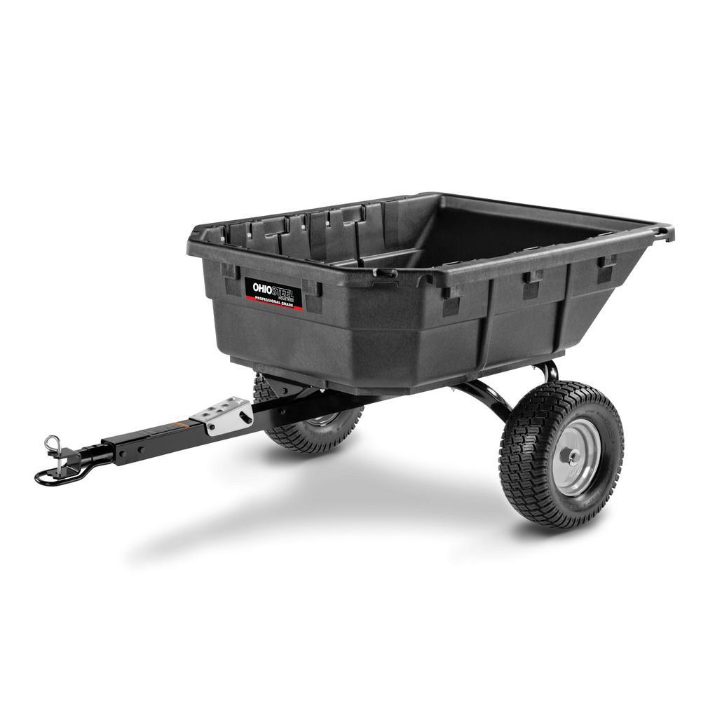 12.5 cu. ft. 1250 lb. Professional Grade Swivel Dump Cart