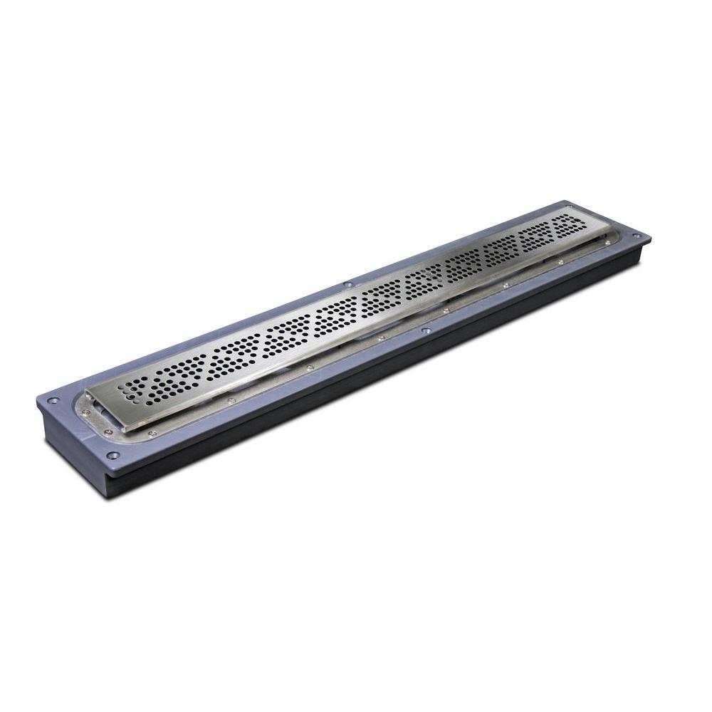 24 in. Steel Linear Shower Drain