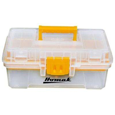 12 in. Plastic Transparent Tool Box