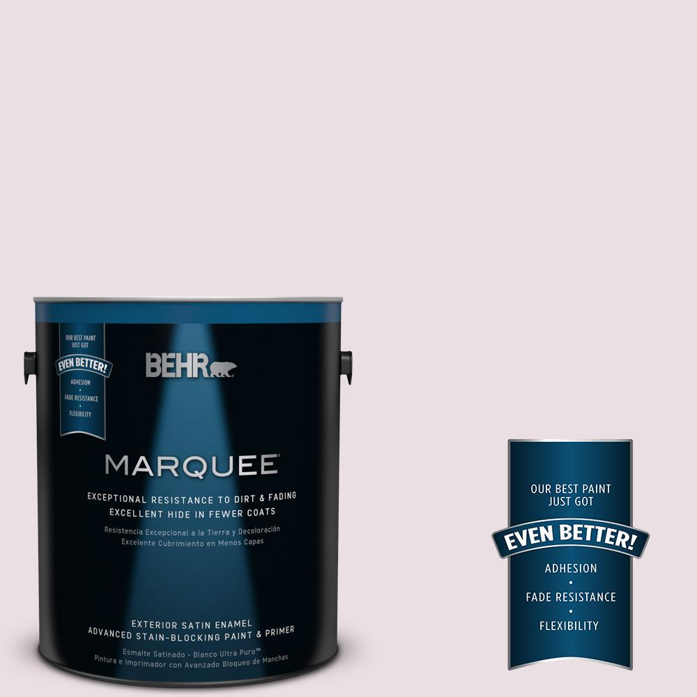 BEHR MARQUEE Home Decorators Collection 1-gal. #HDC-CT-08 Pink Posey Satin Enamel Exterior Paint