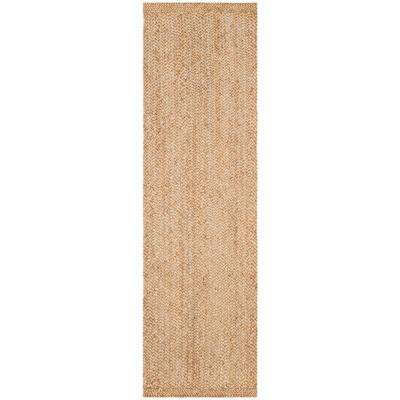 Natural Fiber Beige 2 ft. 6 in. x 10 ft. Runner Rug