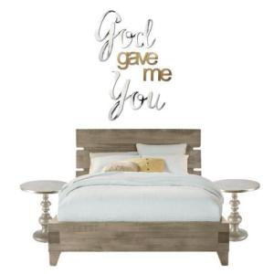 30 In H X 24 In W Hand Painted God Gave Me You Wall Words 2dar