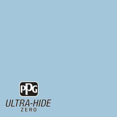 1 gal. #HDPB45 Ultra-Hide Zero Atlantis Blue Semi-Gloss Interior Paint