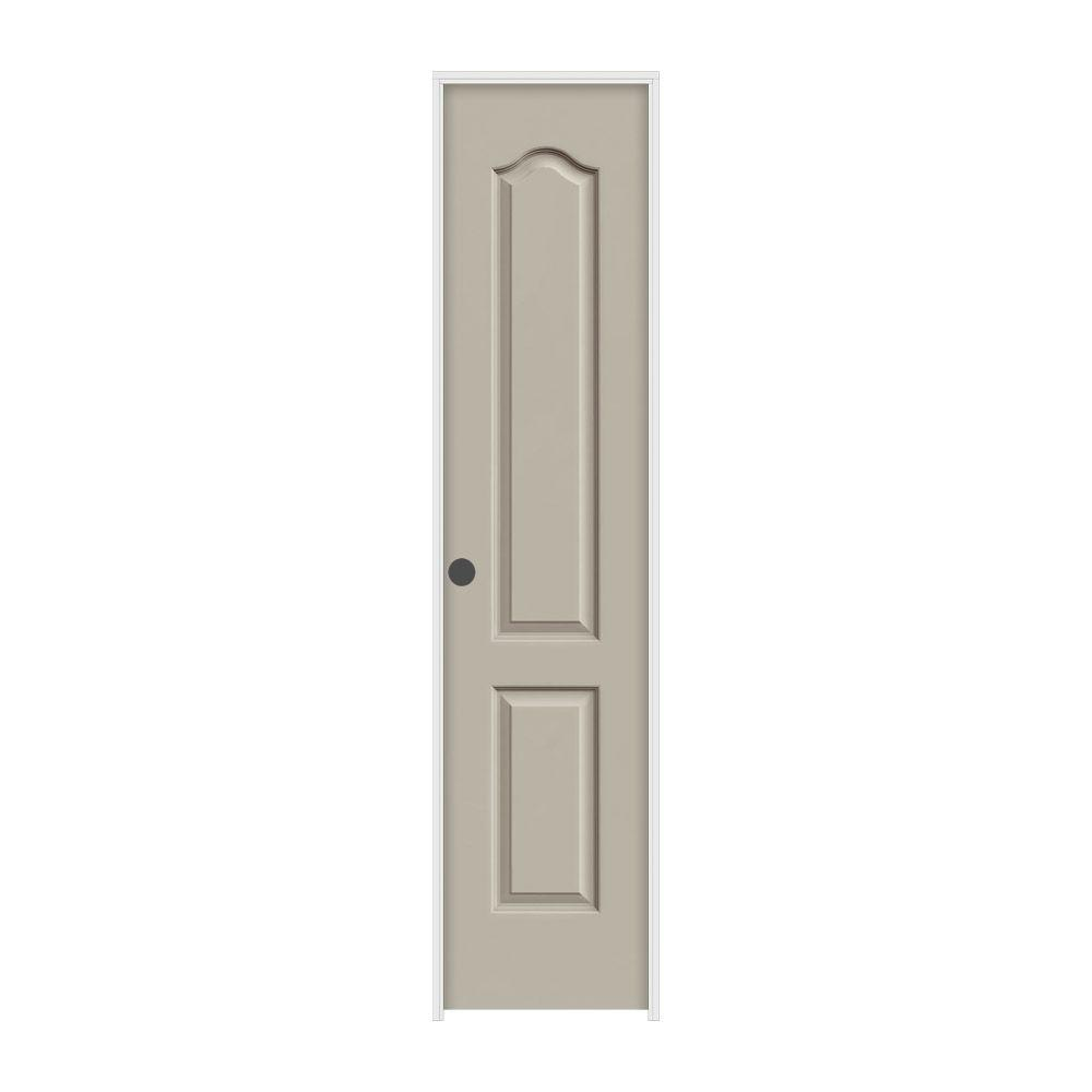 18 in. x 80 in. Princeton Desert Sand Right-Hand Smooth Solid