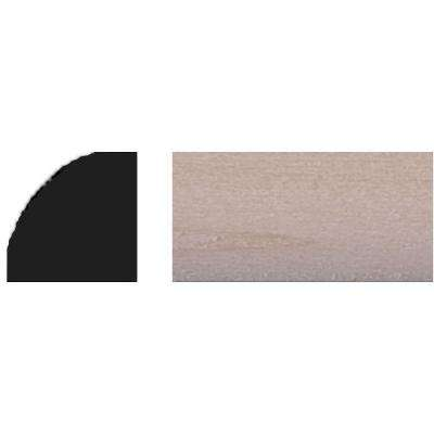 3/8 in. x 3/8 in. x 48 in. Basswood Quarter Round Tinytrim Moulding