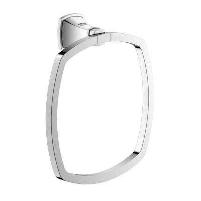 Grandera Towel Ring in StarLight Chrome