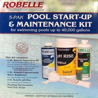 Swimming Pool Start-Up and Maintenance Kit