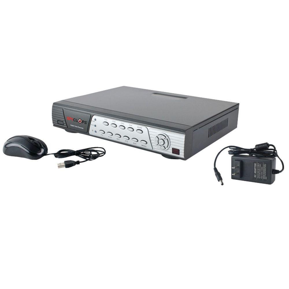 4-Channel D1 500GB Digital Video Recorder