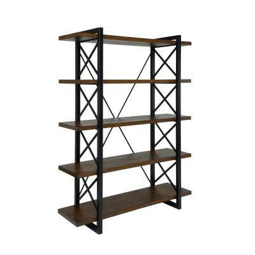 Benel Medium Weathered Oak Bookcase