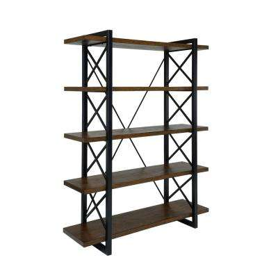 Benel Medium Weathered Oak Bookcase
