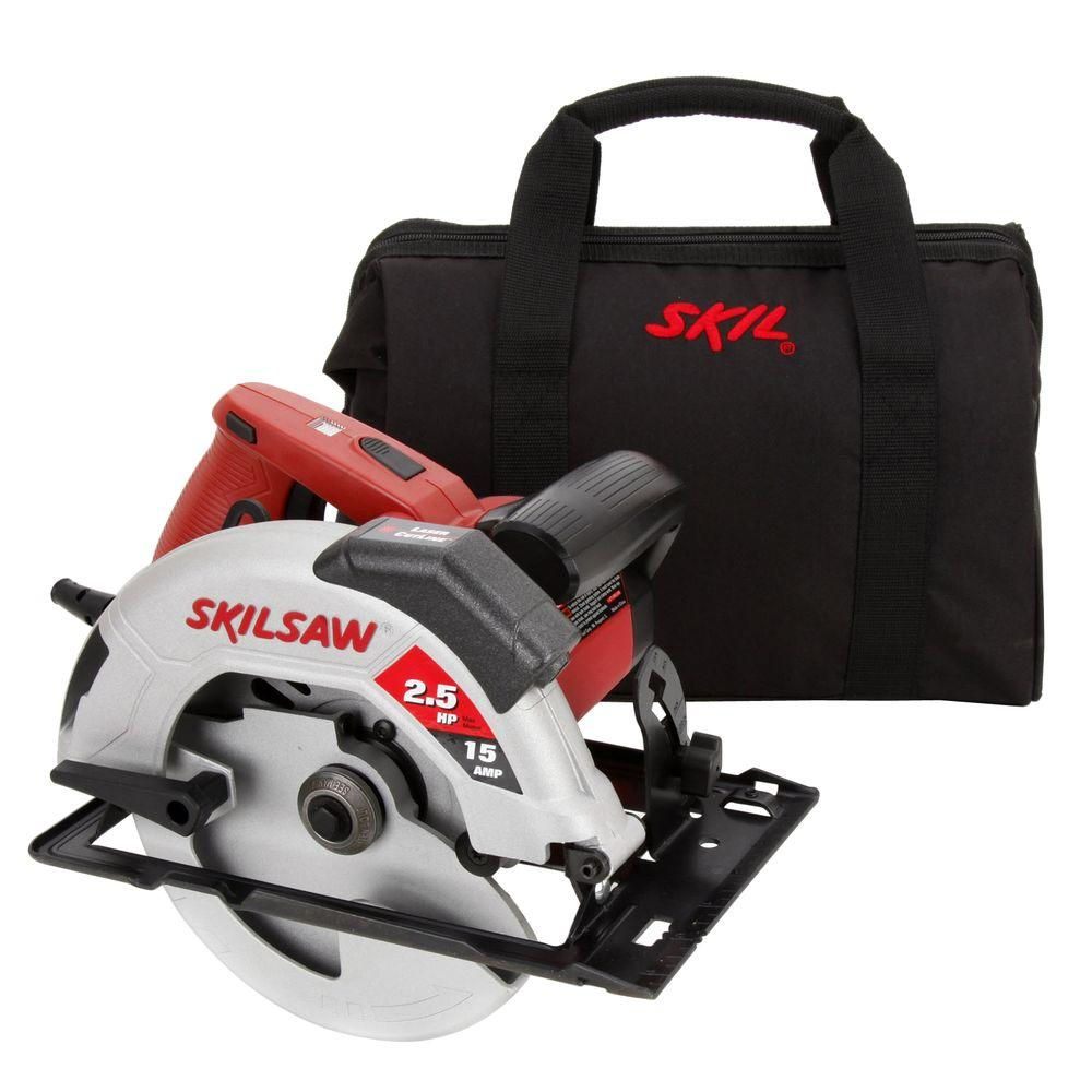 Skil 15 Amp 7-1/4 in. Circular Saw with Laser