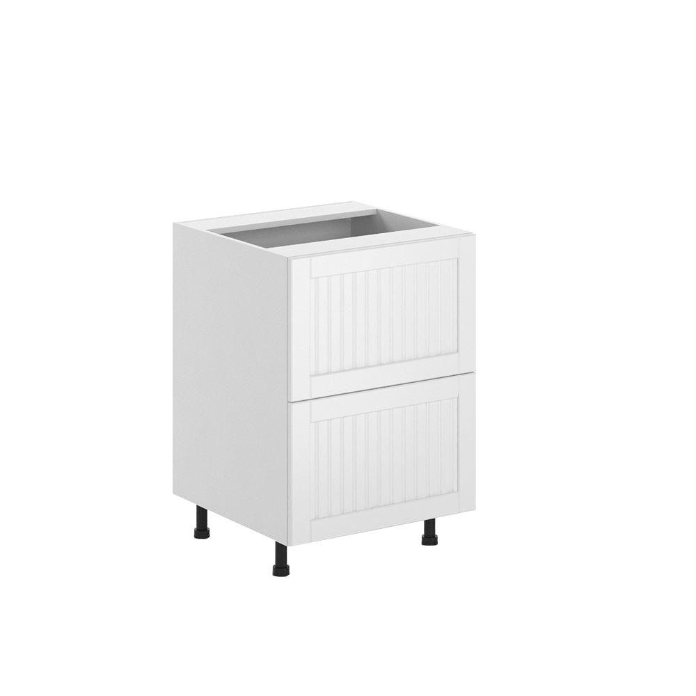 Ready to Assemble 24x34.5x24.5 in. Odessa 2-Deep Drawer Base Cabinet in
