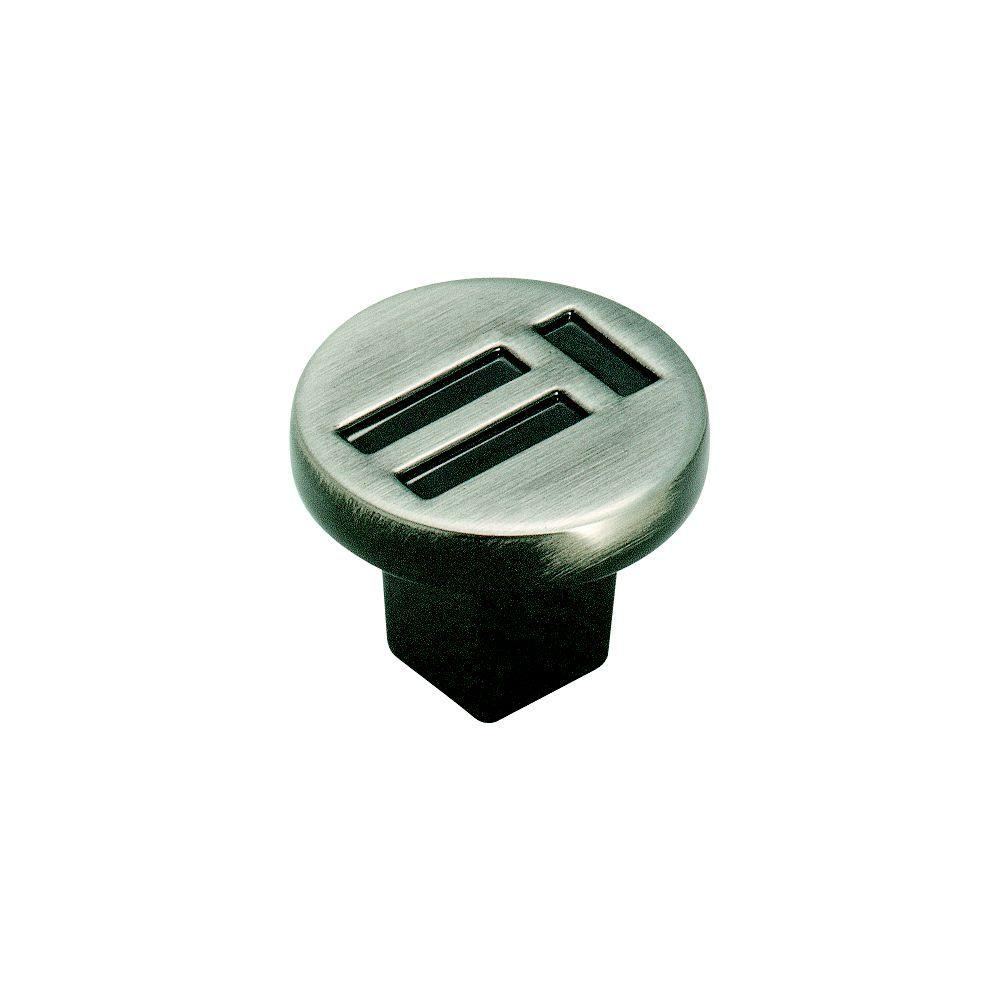 Evolutions 1-1/4 in. Pewter Cabinet Knob