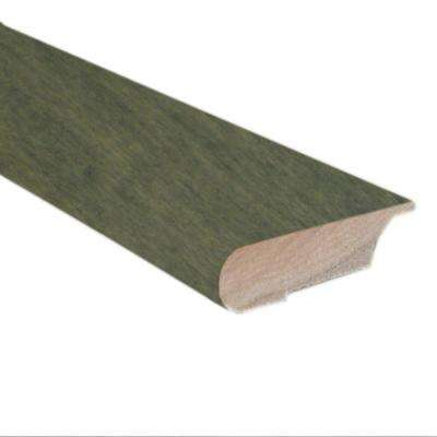 Slate 0.81 in. Thick x 3 in. Wide x 78 in. Length Hardwood Lipover Stair Nose Molding