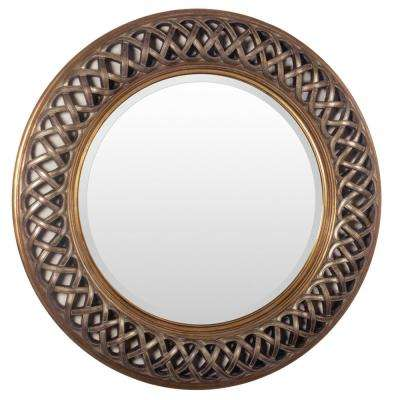 Samuell 36 in. x 36 in. Traditional Framed Mirror