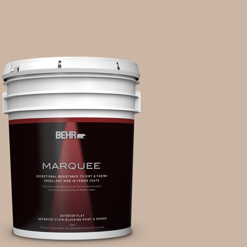 BEHR MARQUEE 5-gal. #BXC-13 Rustic Rose Flat Exterior Paint