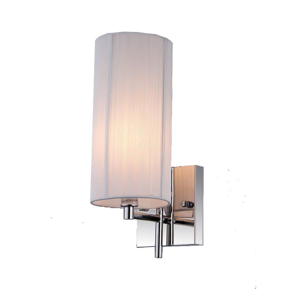 Renaissance 1-Light White Indoor Wall Lamp