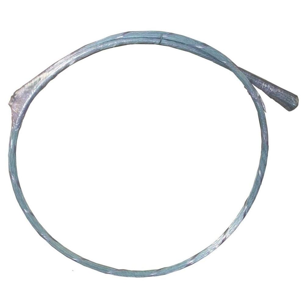 Glamos Wire Products 14-Gauge 10 ft. Strand Single Loop Galvanized ...