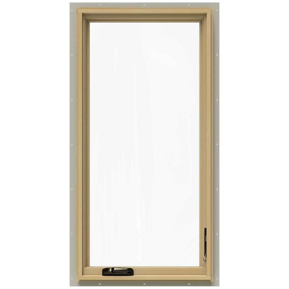 Jeld wen in x in w 2500 right hand casement for Casement window reviews