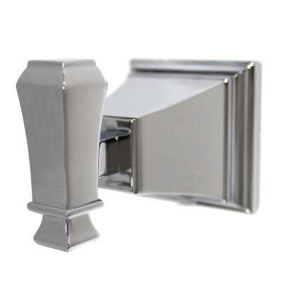 Rainier Single Robe Hook in Polished Chrome