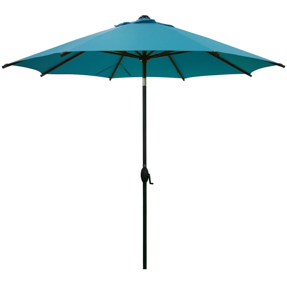 TtKj Folding Umbrella Automatic Umbrella 8 Bone Plain Anti-Sun Advertising Umbrella 5799110cm