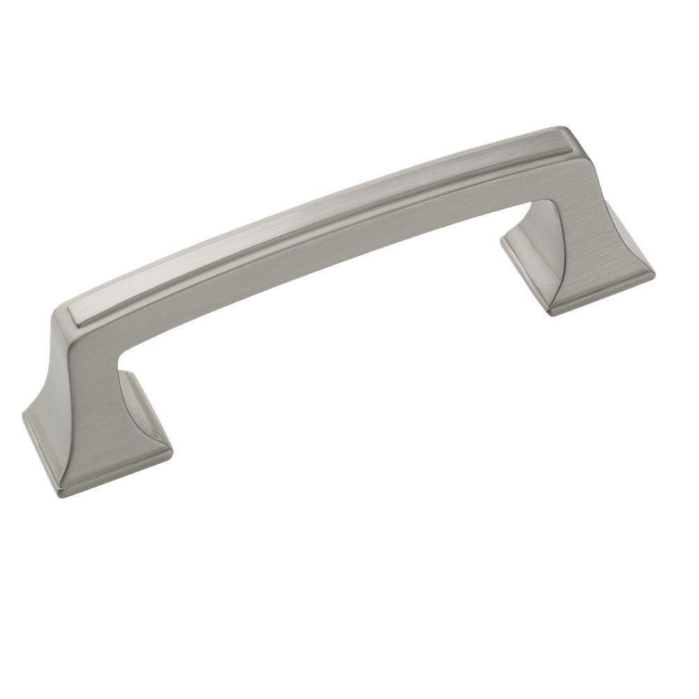 Satin Nickel Rectangular Pull