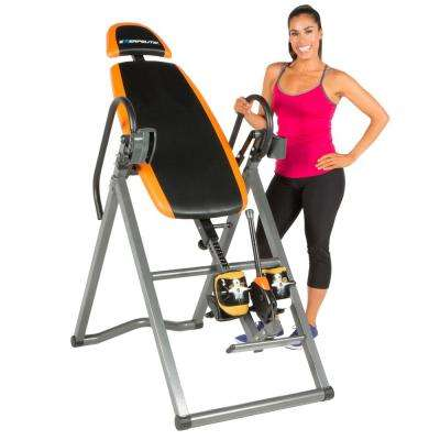 475SL Inversion Table with Airsoft No Pinch Ankle Holders and SureLock Safety Ratchet System