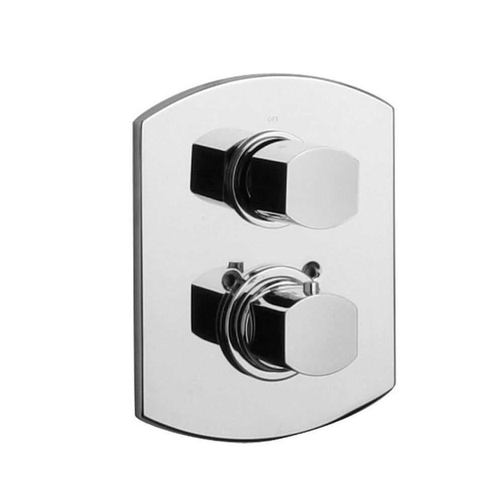 LaToscana Novello Thermostatic Shower Valve in Chrome-86CR690TH ...