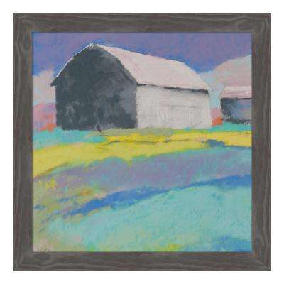"""Summer Day"" by Mike Kelly Framed Canvas Wall Art"
