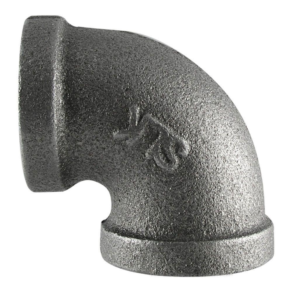 3/4 in. Black Iron 90° Elbow
