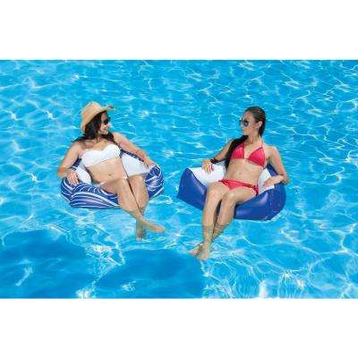 Catalina Swimming Pool Float Water Chair - 2 Pack