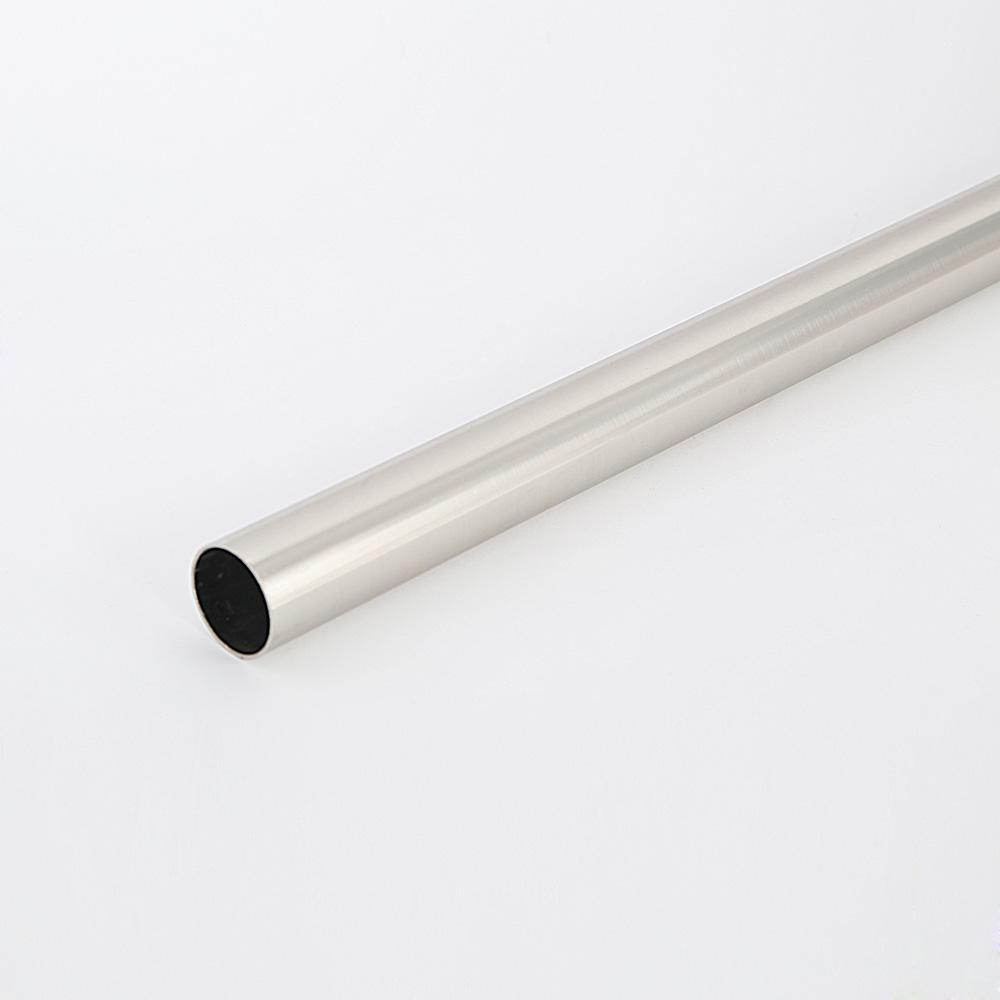 Everbilt 1 31 In Heavy Duty Brushed Nickel Closet Rod Eh Wsthdus
