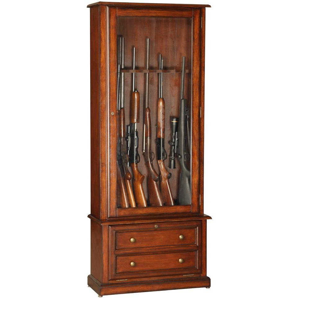 American Furniture Classics 5.45 cu. ft. 8 Gun Cabinet