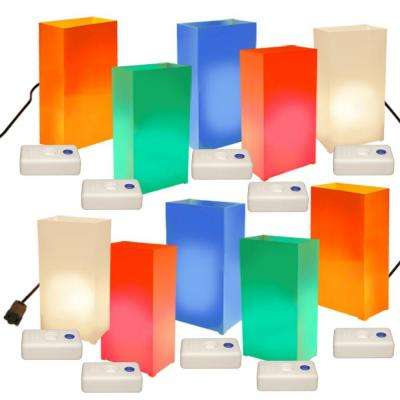 Electric Luminaria Kit with LumaBases - Multi-colors