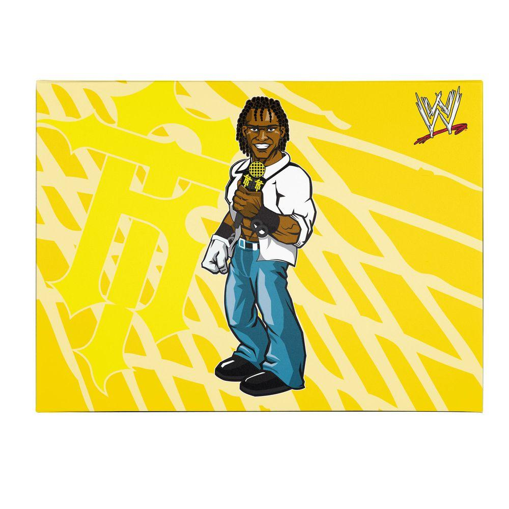 Trademark Fine Art 35 in. x 47 in. Officially Licensed R-Truth WWE Kids Canvas Art