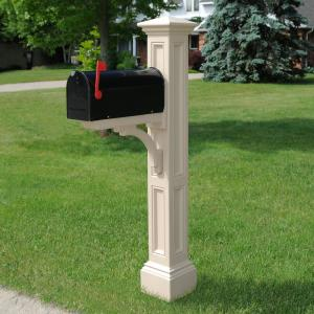 Mayne Charleston Mail Post Clay 5857 C The Home Depot