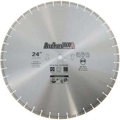 24 in. Diamond Blade for General Purpose