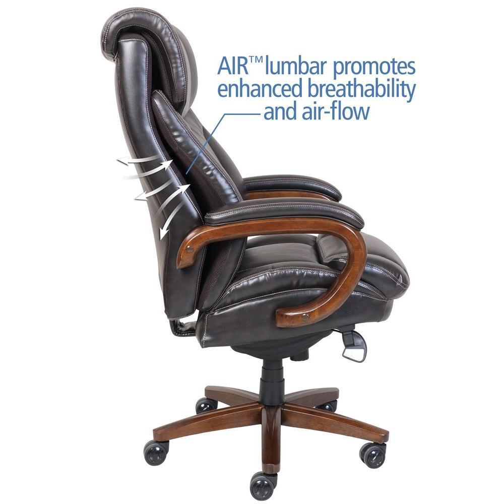 la z boy tafford vino bonded leather executive office chair 45782