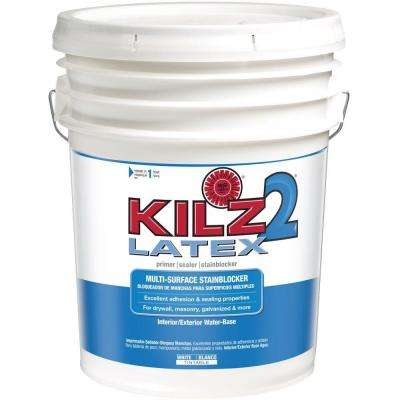 5-gal. White Water-Based Latex Multi-Surface Interior/Exterior Primer, Sealer and Stain-Blocker