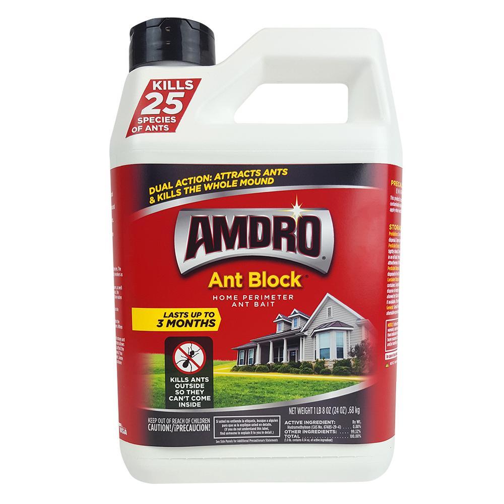 Amdro 24 oz. Ant Block Home Perimeter Ant Bait