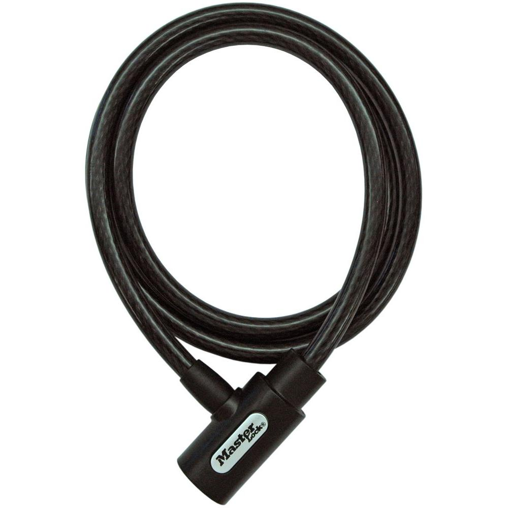 5 ft. Braided Steel Cable with Integrated Keyed Lock