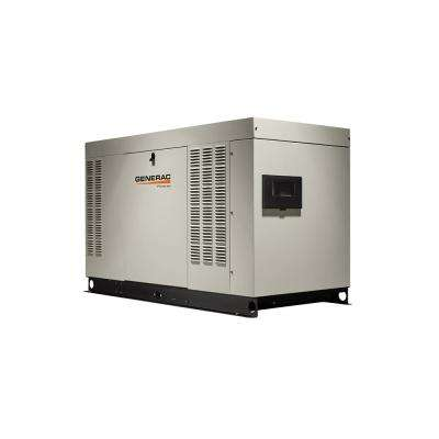 Installed Protector Series Commercial Automatic Standby Generators