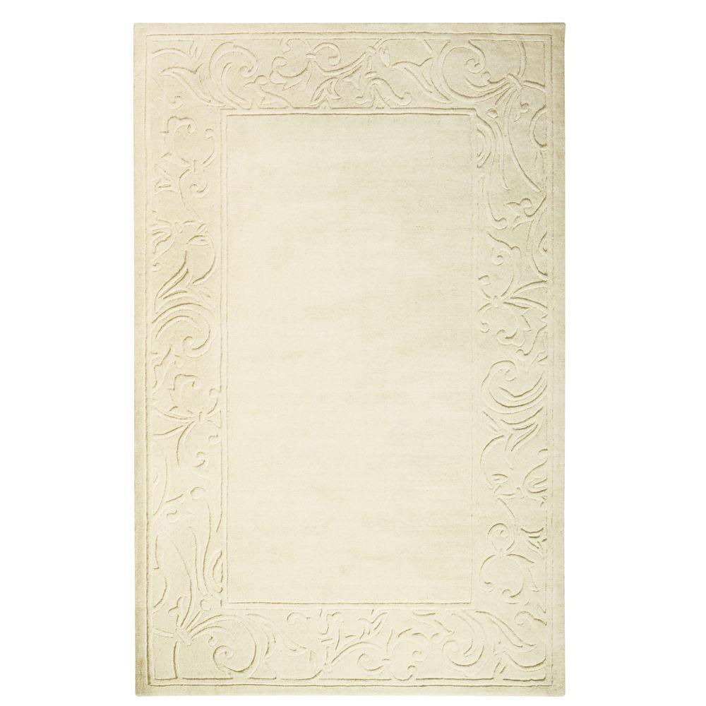 Home Decorators Collection Cyrus Ivory 2 ft. x 3 ft. Area Rug