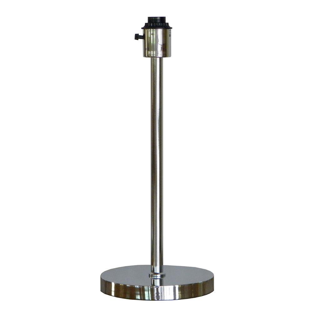 Ulysses Chrome Table Lamp: Kenroy Home Mercurio 28 In. Cracked Chrome Glass Table